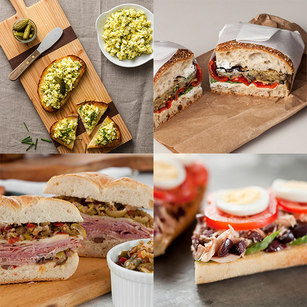 Back to School Basics: 4 Mediterranean Sandwiches to Brighten Lunchboxes