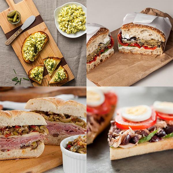 Back to School Basics: 4 Mediterranean Sandwiches to Brighten Lunchboxes