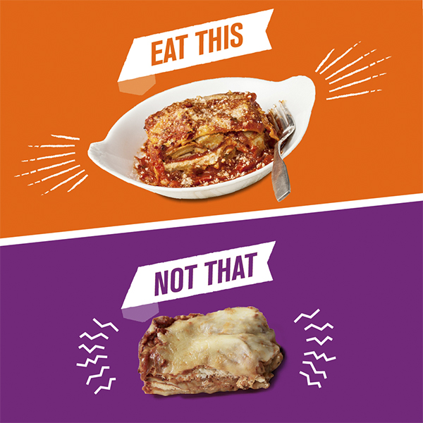 Eat This/Not That: Lasagna