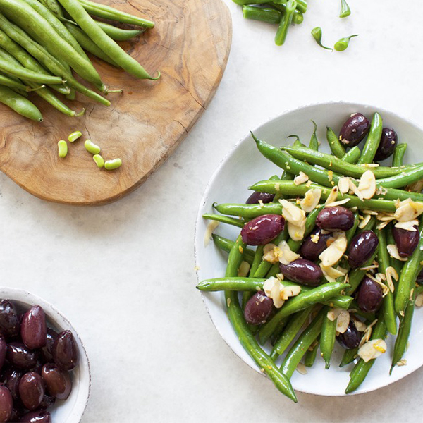 Olive and Almond Green Beans