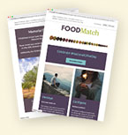 FOODMatch Mediterranean specialty foods importer website