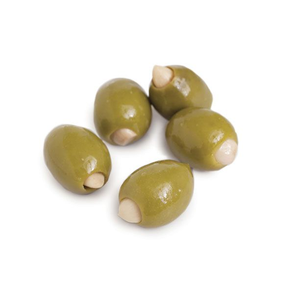 D0276 - Mt. Athos Green Olives Stuffed with Garlic