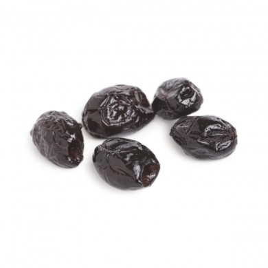 2017 - Dry-Cured Black Beldi Olives, Pitted