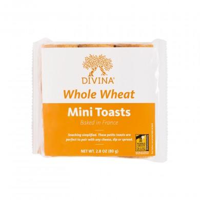 2621 - Mini Toast, Whole Wheat