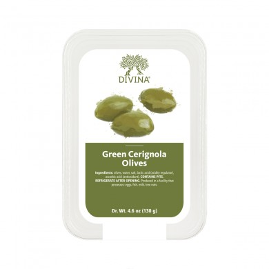 14151 - Green Cerignola Olives