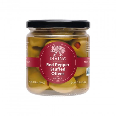 20278 - Red Pepper Stuffed Olives