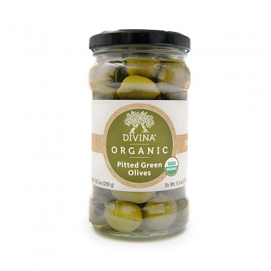 21270 - Organic Pitted Green Olives