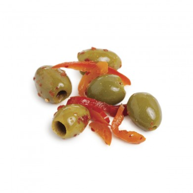 54458 - Peruvian Chili Marinated Ascolana, Pitted