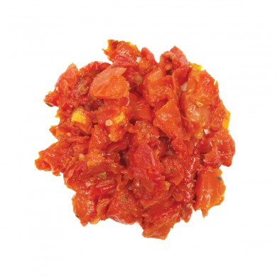 78263 - Roasted Red Tomatoes, Diced (Seasoned)