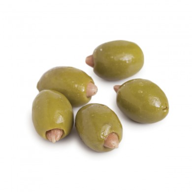 D0277 - Mt. Athos Green Olives Stuffed with Almonds