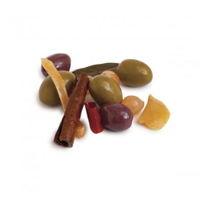 FR114 - Tunisian Olive Mix with Harissa & Lemon