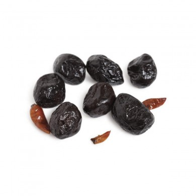 FR304 - Dry-Cured Black Olives with Hot Peppers