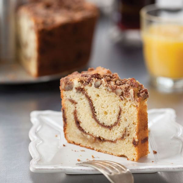 Fig Pecan Coffee Cake