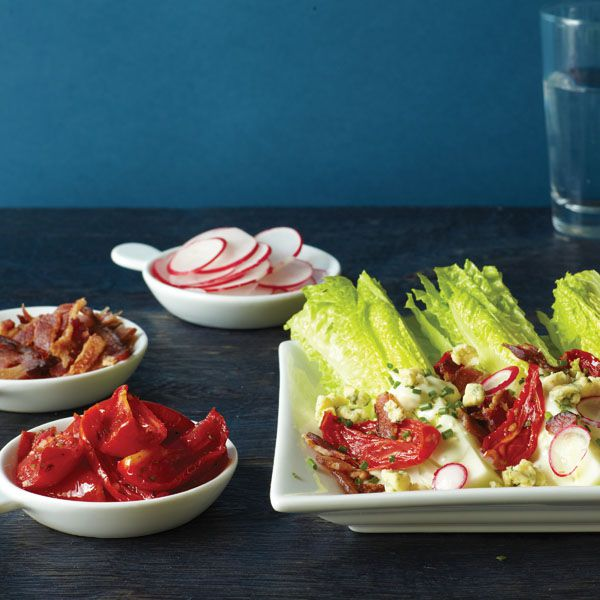 Roasted Tomato Wedge Salad