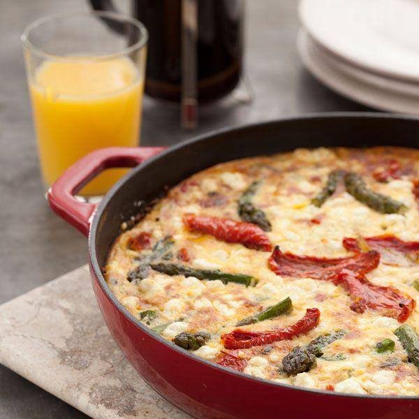 Tomato & Asparagus Frittata