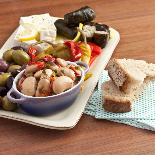 Contemporary Greek Platter