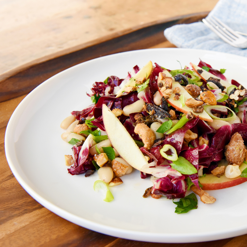 Nuts Over Olives Radicchio Salad