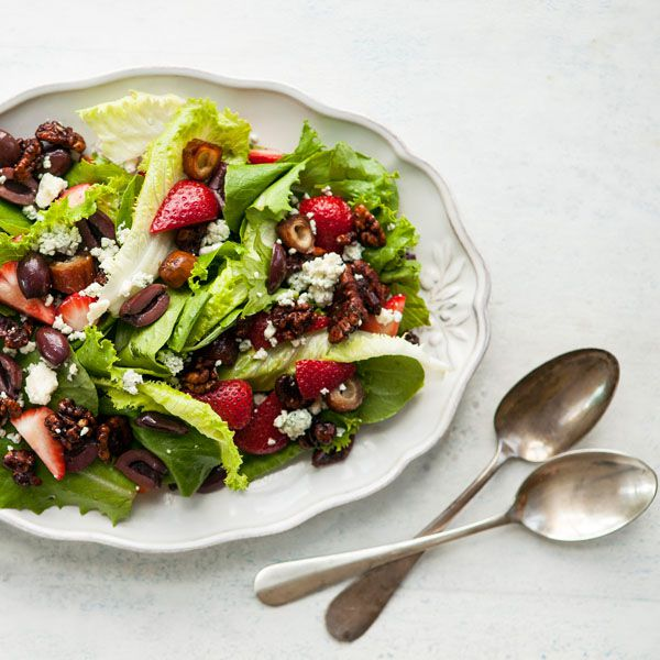 Strawberry & Kalamata Salad