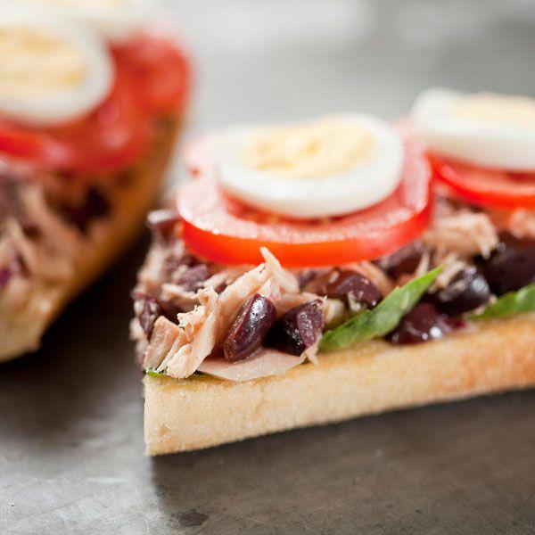 Mediterranean Tuna Sandwich | Our Recipes | FOODMatch