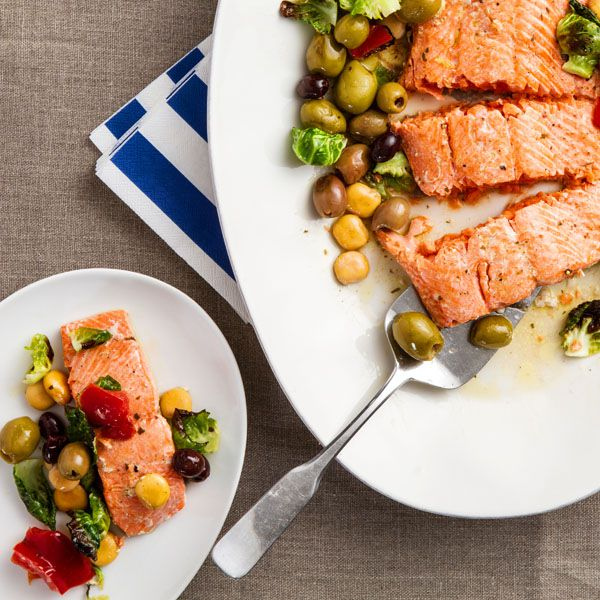 Salmon Provençal
