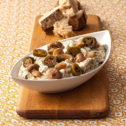 Spicy Mushroom Fondue