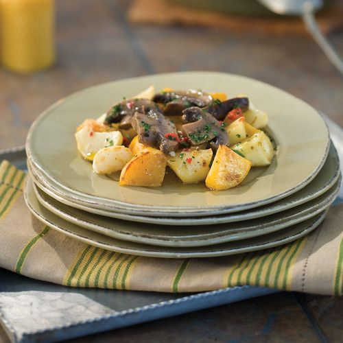Portobello with Roasted Winter Root Vegetables | Our Recipes ...