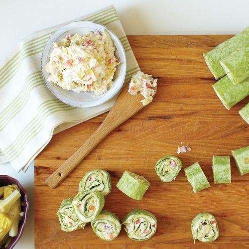 Spinach & Artichoke Pinwheels