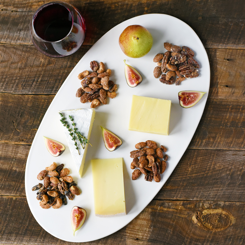 Bobbysue's Nuts & Cheese Plate