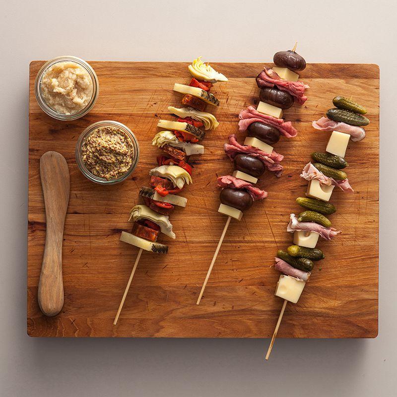Mediterranean Snack Skewers