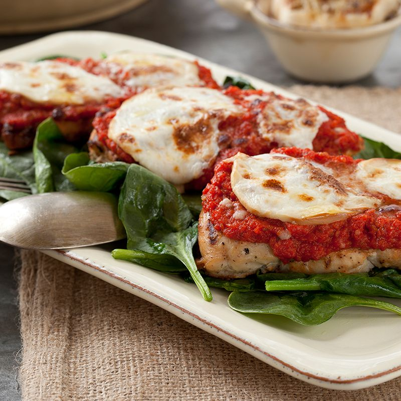 Grilled Chicken Parmesan