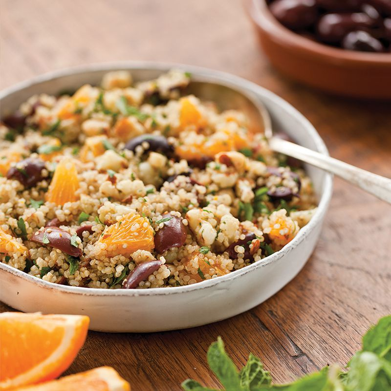 Fresh Mediterranean Quinoa Bowl