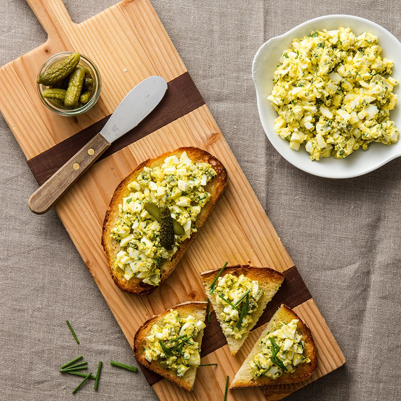 Zesty Egg Salad Sandwich