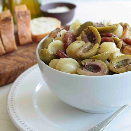 Sicilian Herb & Sausage Pasta